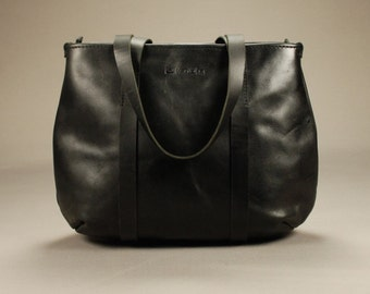 Redoker Delight Tote Bag - Genuine leather tote with Ykk Zipper