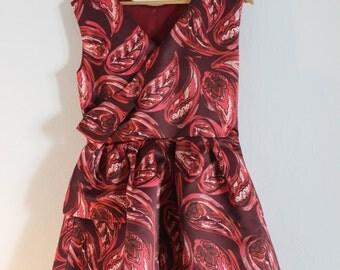 Hand made Italian dress rockabilly 50s vintage style
