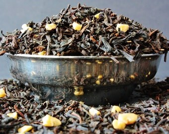 Smoked Almond Loose Leaf Tea - Smoked Tea - Almond Tea  - Loose Leaf Tea - Tea - Tea Gift