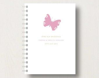 Personalised Bridesmaid or Flower Girl Journal