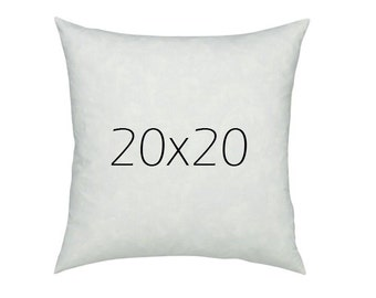 20x20 Feather Pillow Insert