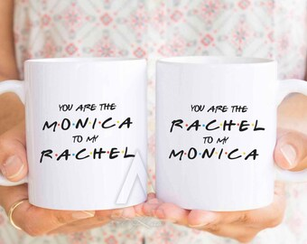 Best friend mugs christmas gifts you are the monica to
