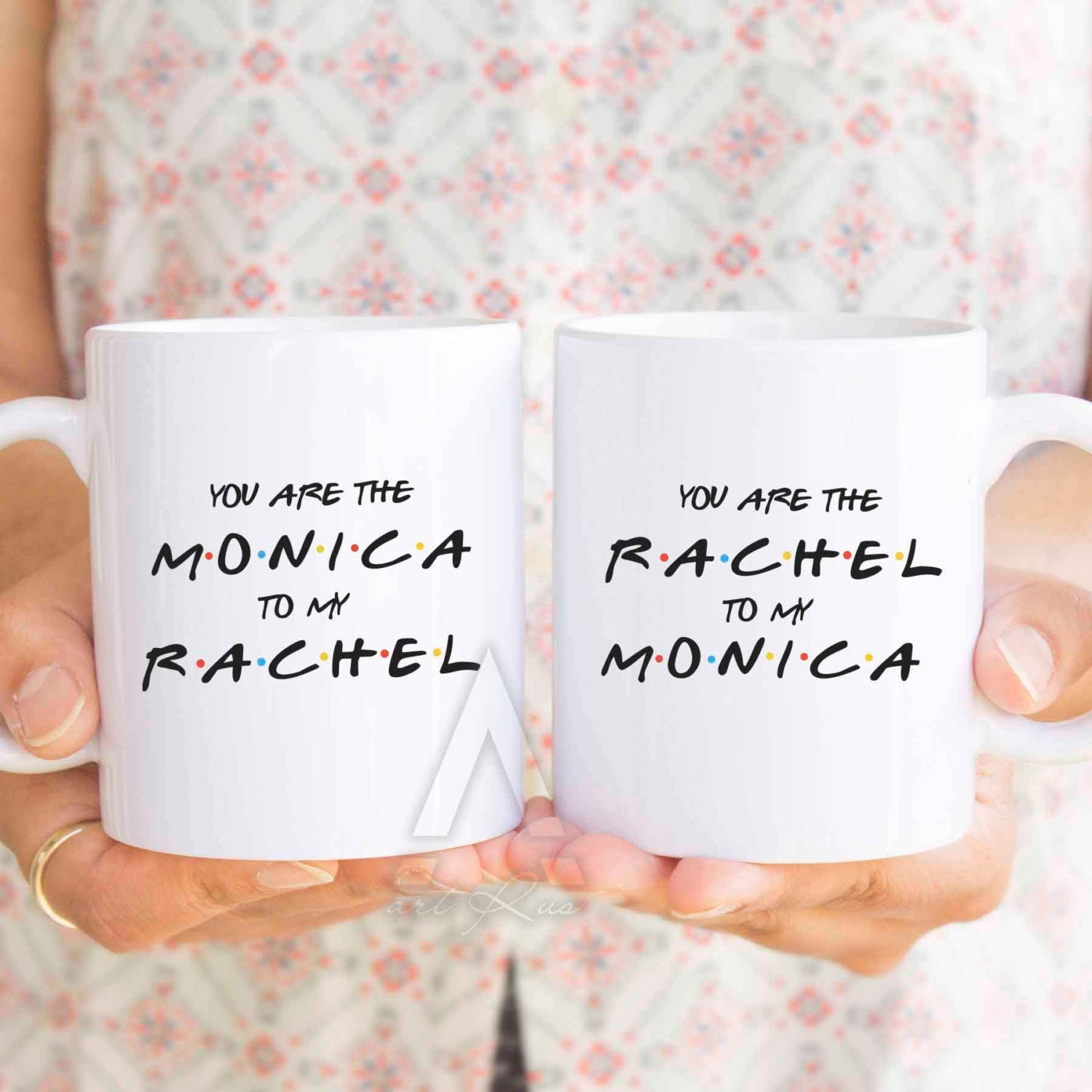 Best friend cups you are the monica to my rachel Christmas ideas for your best friend