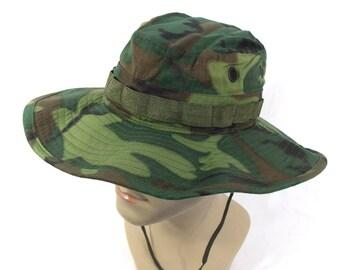 Original Vietnam war US Type II Tropical Combat Hat (1969)
