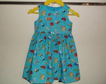 Cute bugs dress