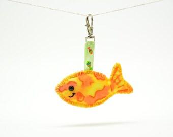 Orange Fish Clipable