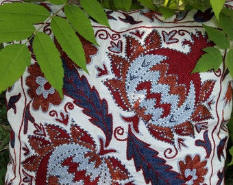 A Suzani Pillowcase. Handmade and Amazing!