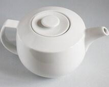 White Retro Coffee POT BY TCM Bauhaus Style