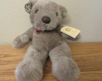 """Roosevelt Teddy 1985, made in  Korea, Heritage Collection Bear 13"""" Ganzbro"""