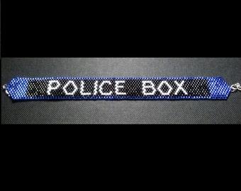 Tardis Police Box Bracelet