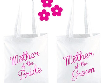 Mother Of The Bride Gift Tote Bag. Mother Of The Groom Gift Tote Bag. Wedding Bag. Wedding Gift. Wedding Bag.