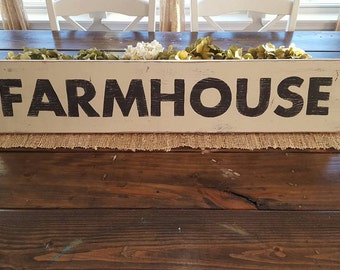 Farmhouse Sign, Hand Painted Sign, Kitchen Sign, Wood Sign, Farmhouse Decor,Distressed Sign, Country Decor, Shabby Chic Decor, Rustic Sign