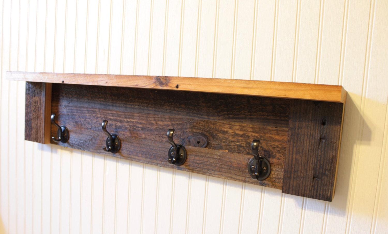 coat rack shelf wall coat rack coat rack towel rack 4. Black Bedroom Furniture Sets. Home Design Ideas