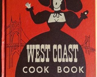 Vintage West Coast Cook Book Helen Brown 1952