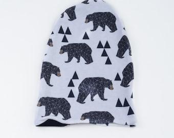 Bear Reversible Hat(Beanie)