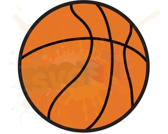 Basketball SVG Files for Cutting Sports Cricut Designs - SVG Files for Silhouette - Instant Download