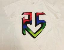 R5 Logo Airbrushed T-shirt