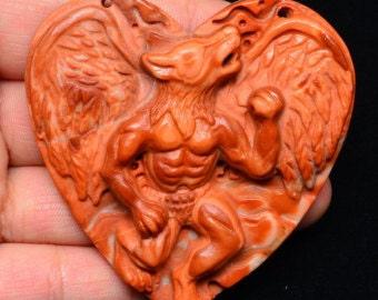 Beautifully Detailed Werewolf Pendant (Read Description) (Last One!!!)
