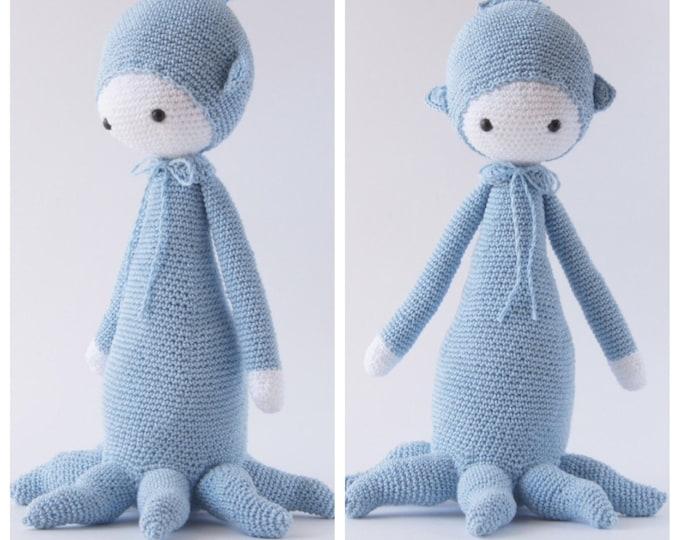Crochet Toy Doll Octopus Amigurumi Lalylala Doll Handmade