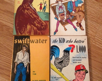1960s Teen Scholastic Book Collection