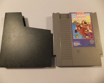 Mickey Mousecapade Original NES Nintendo Vintage Video Game Cartridge