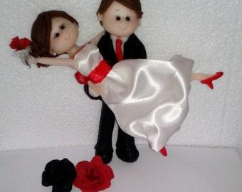 Handmade Cake topper Wedding