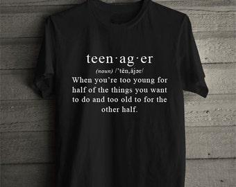 Teenager Definition Tee