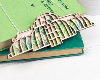 Kew Palm House Necklace