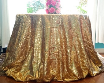 Gold Sequin Fabric