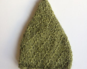 Moss Pixie Baby Hat in 0-3 months