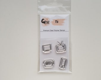 Clear Stamps_ mini _ TV _ 017