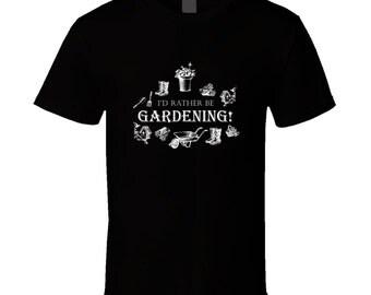 Gardening t-shirt. Gardening tshirt for him or her. Gardening tee as a Gardening gift idea. A great Gardening gift with Gardening t shirt