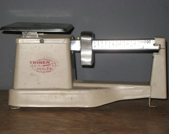 Triner Postal Scale 1980/USPS 1980/Vintage Metal Scale/Vintage Postal Scale 1/2 oz to 1lb Weight/Property of USPS 1980