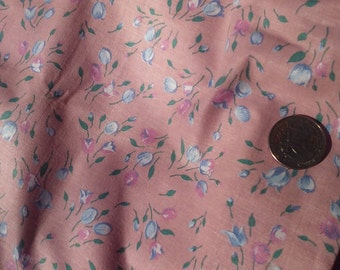 """PINK HOME DECOR,2ydx45""""wide, Sheen,Vintage fabric"""