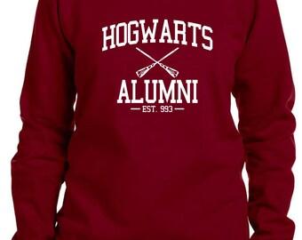 Hogwarts Alumni Harry Potter Inspired Sweatshirt