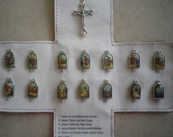 Leather Pocket Oratory - Stations of the Cross