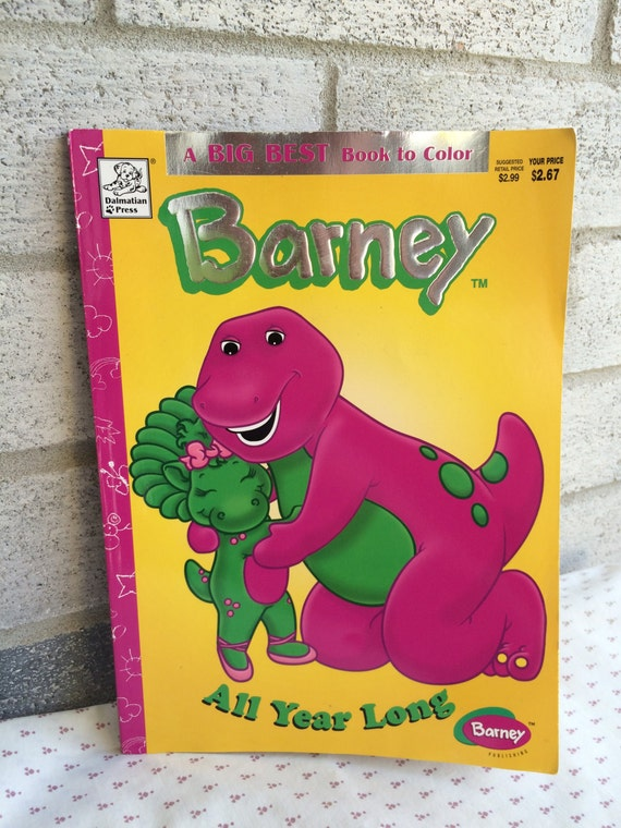 like this item - Barney Coloring Book
