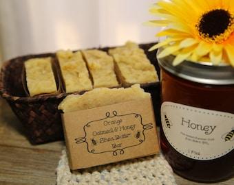 Orange Cedar Honey and Oatmeal