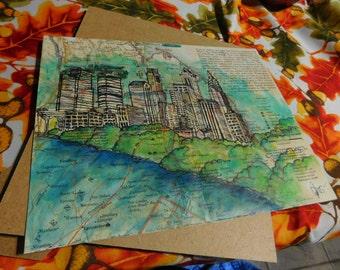 Map City Scape