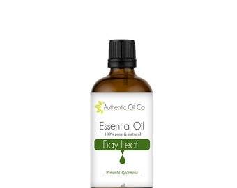 Bay Leaf Essential Oil 100% Pure 10ml 50ml 100ml