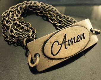 Amen Rustic Bracelet