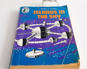 Vintage edition of 'Islands in the sky' by Authur C Clarke