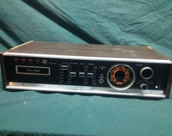 Unique Retro Vintage Electrophonic Model T-660CC Stereo 8-Track Receiver - Morse Electro Products Vintage Radio Console
