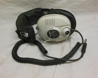 Retro Numark DH-20VA Audio Headphones - Vintage Music Head Phones Decor
