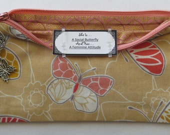 Persette #208 Personalized Zippered Organizing Pouch