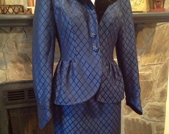 Classy Lillie Rubin Dress Suit Size 6