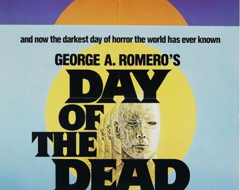 DAY Of THE DEAD Movie Poster Horror Zombies George Romero