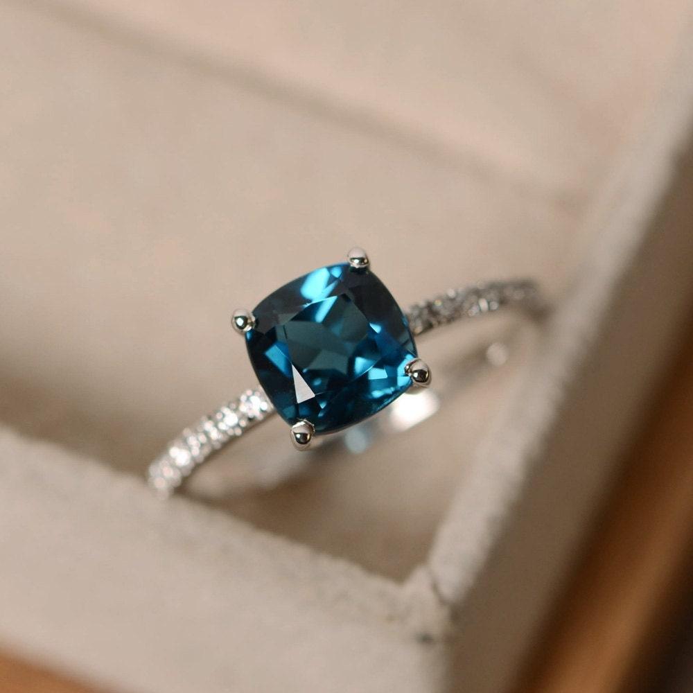Ring Gemstones Silver