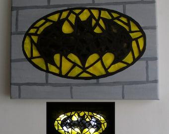 Batman Light Up Wall Art