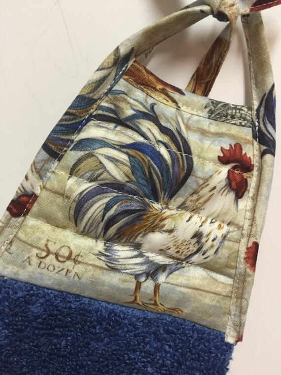 french country rooster rooster decor rooster hanging towel